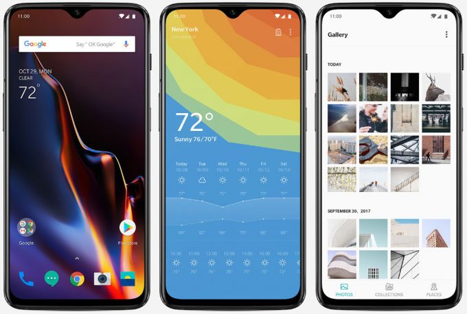 OnePlus 6T's Android OS