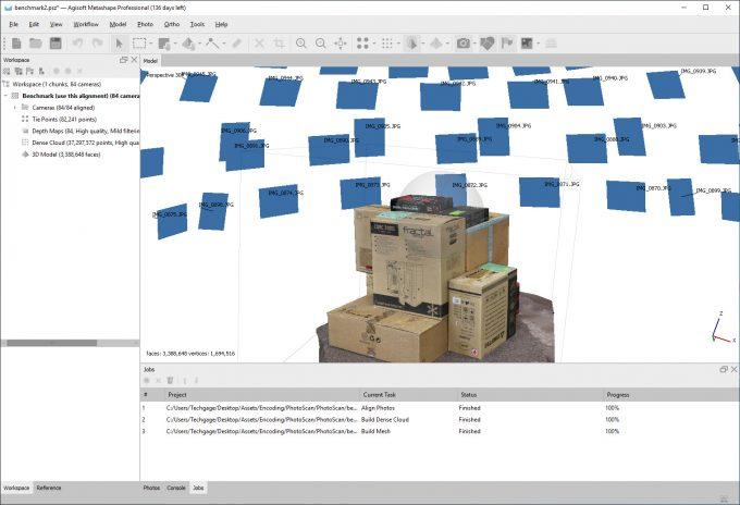 Agisoft Metashape Sample Project