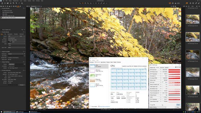 Capture One - GPU Usage During Image Export