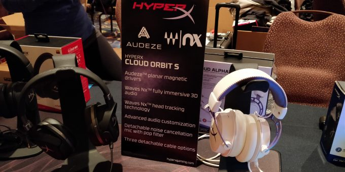 HyperX Cloud Orbit S 3D Tracking Headset At CES 2019