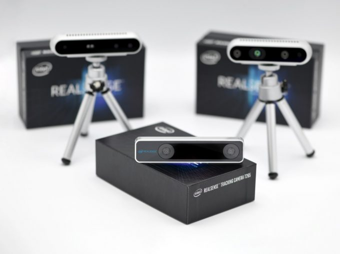 The Intel RealSense Tracking Camera T265 is a new class of stand