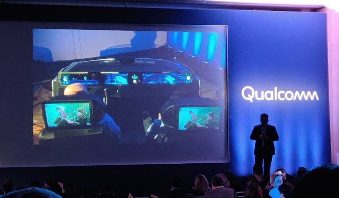 Qualcomm Future Vehicle Info and Entertainment Systems