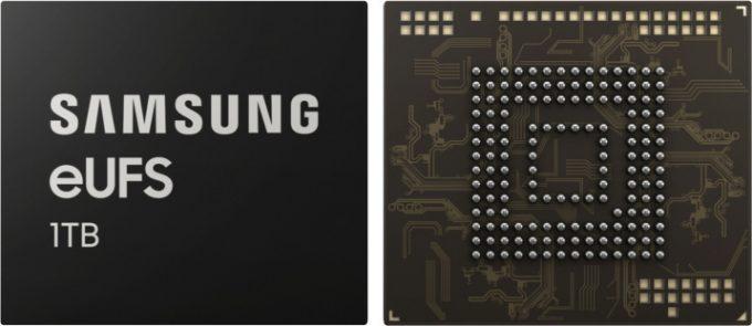 Samsung 1TB eUFS Memory