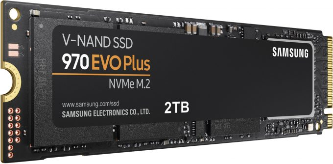 Samsung 970 EVO PLUS 2TB NVMe SSD