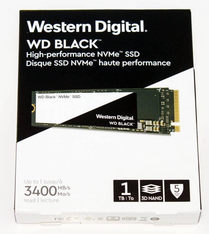 A New Challenger: Western Digital Black 1TB NVMe M 2 SSD
