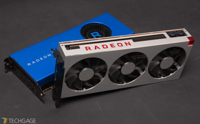 AMD Radeon Pro WX 8200 and Radeon VII