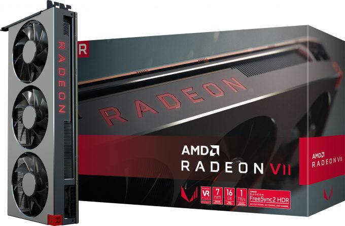 AMD Radeon VII Official Packaging