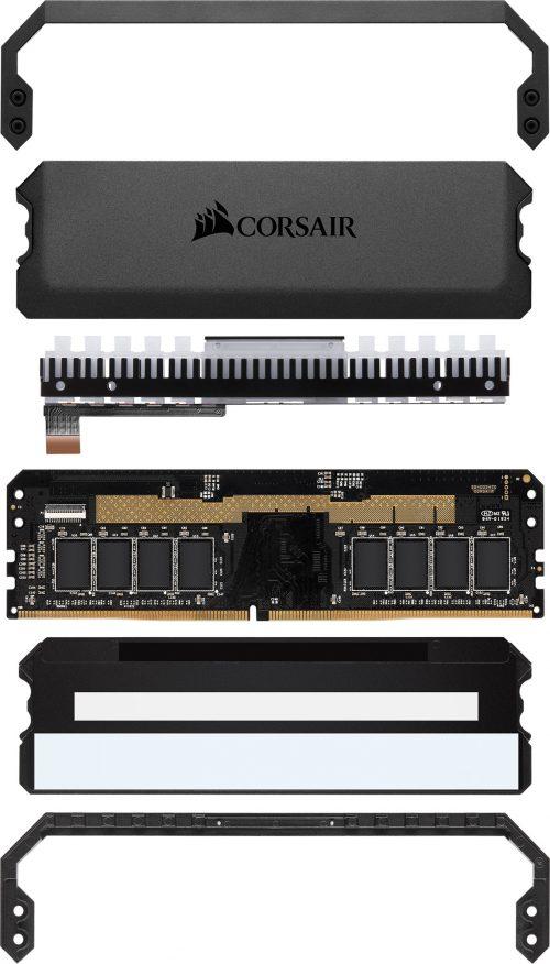 Corsair DOMINATOR Platinum RGB Memory Breakdown