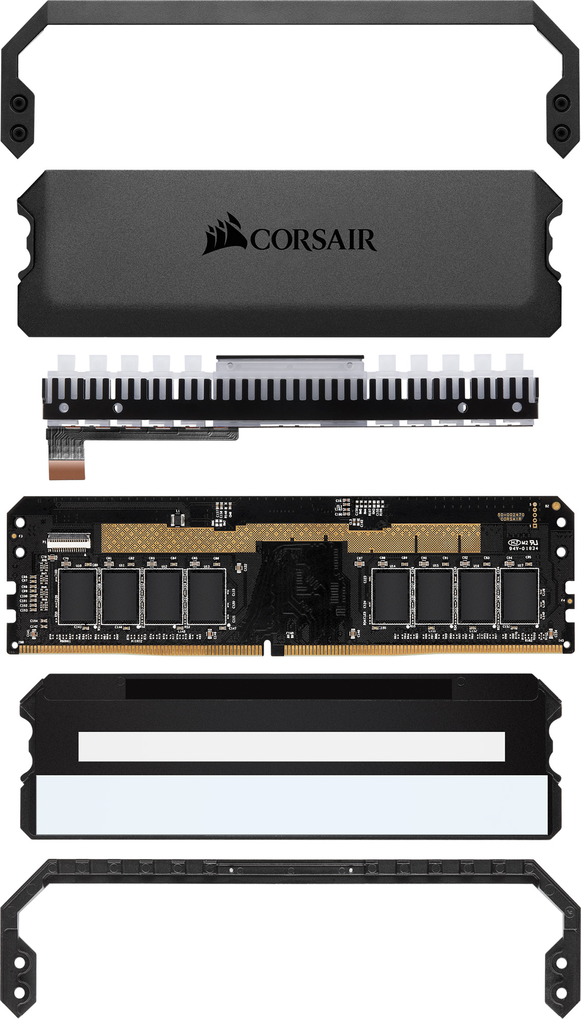 Corsair Releases First CAPELLIX LED Memory Kit: DOMINATOR Platinum