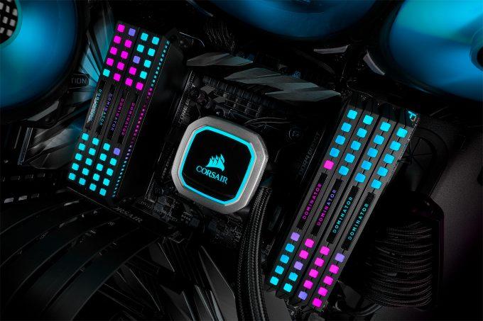 Corsair DOMINATOR Platinum RGB Memory - Vaporwave Colors