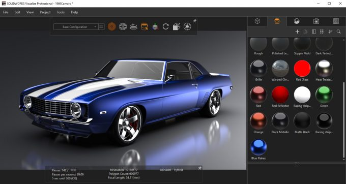 SolidWorks Visualize 2019
