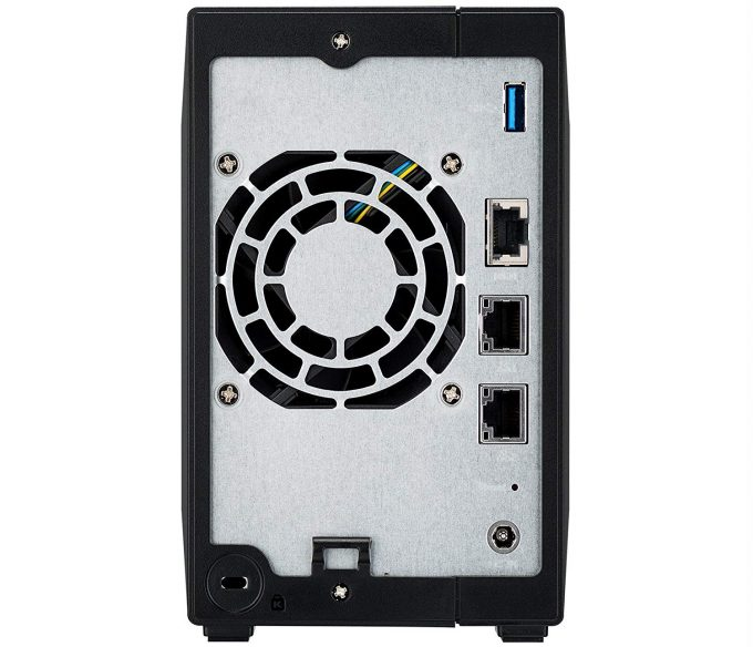 ASUSTOR AS4002T Back Panel