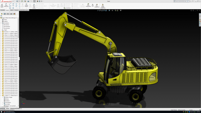 Dassault Systems SolidWorks 2019 - RealView On