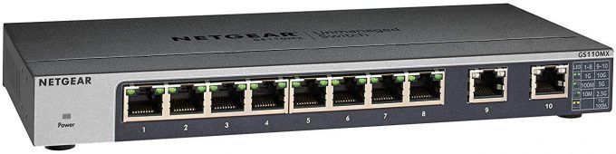 NETGEAR GS110MX 10GbE Switch