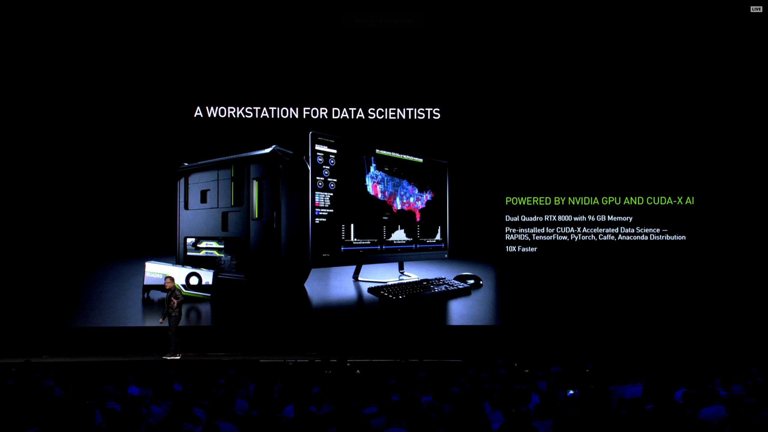 NVIDIA GTC 2019: RTX Servers, Omniverse Collaboration, CUDA-X AI