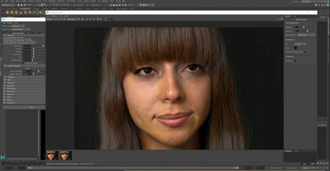 Solid Angle Arnold GPU in Autodesk Maya