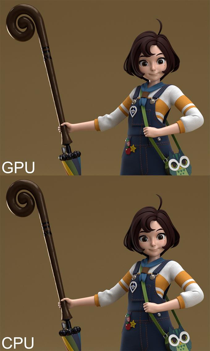 Autodesk Arnold CPU vs GPU Render