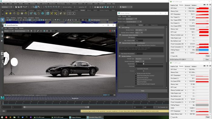 Exploring Performance With Autodesk's Arnold Renderer GPU
