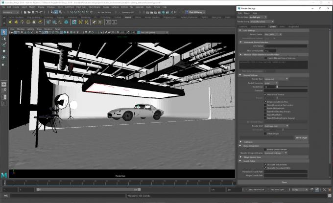 Autodesk Maya 2019 with Arnold GPU