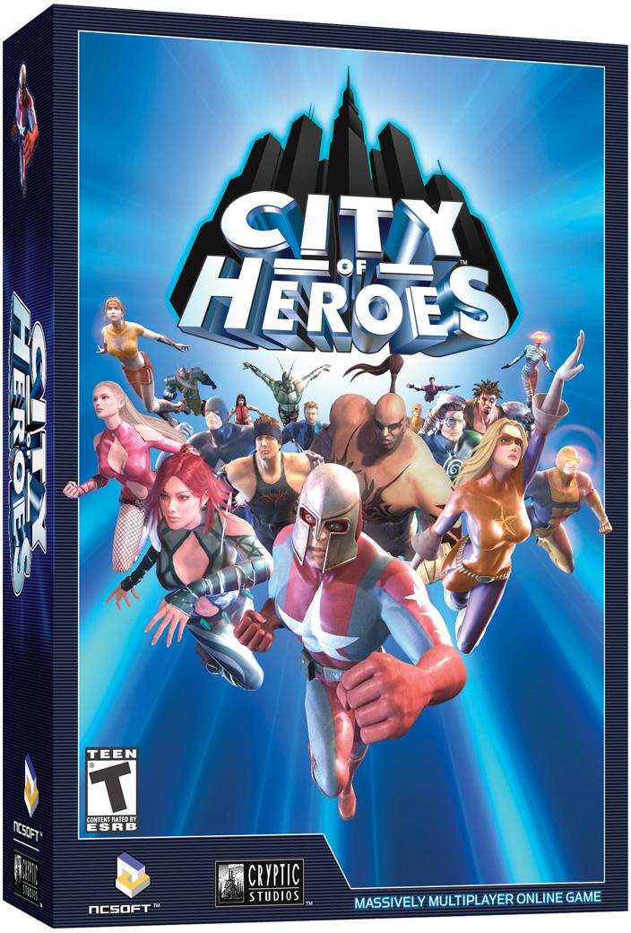 City of Heroes Box Art