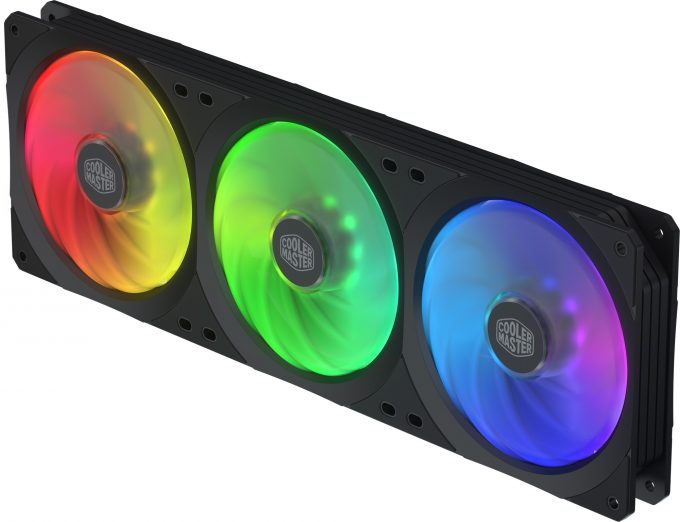 Cooler Master SF360R ARGB Square Fan Series