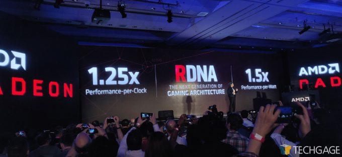 AMD Computex 2019 Keynote Navi Basic Specs