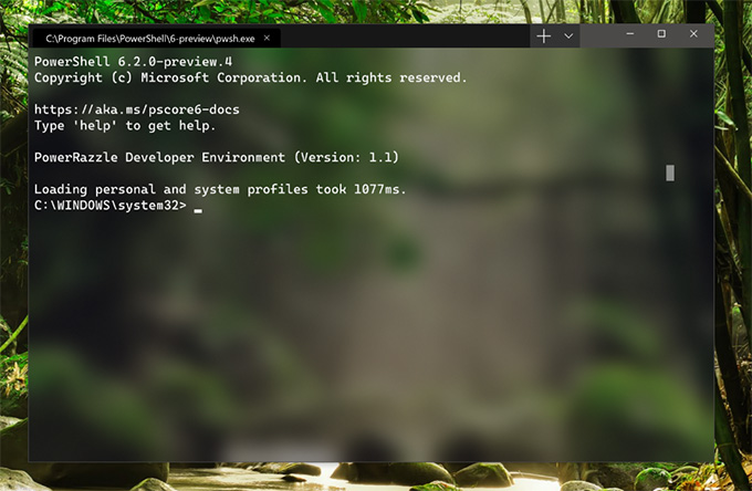 Microsoft Windows Terminal