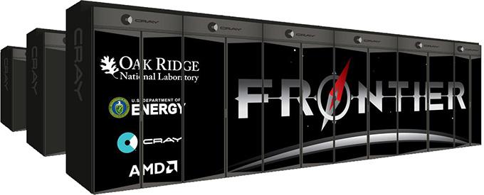 Oak Ridge Frontier Supercomputer