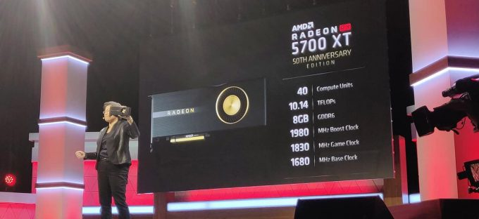 AMD Radeon RX 5700 XT 50th Anniversary Card E3