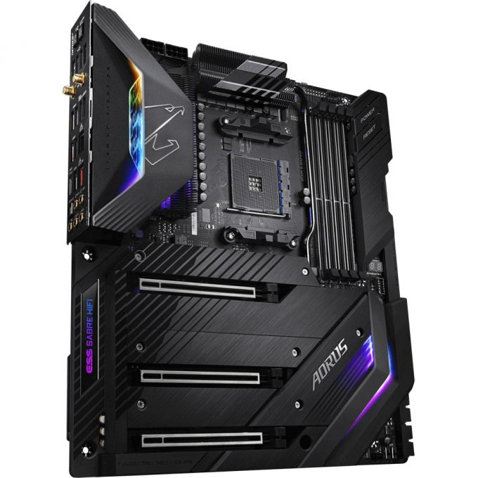 Aorus X570 XTREME AM4 Motherboard - Press Shot