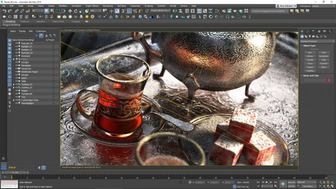 Chaos Group V-Ray in Autodesk 3ds Max 2019