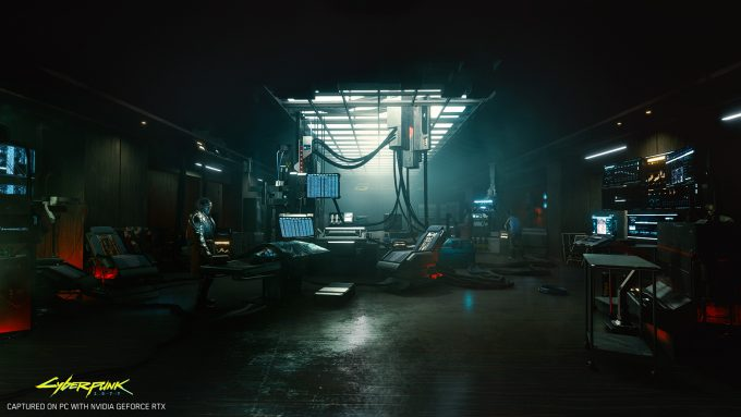 Cyberpunk 2077 Indoor RTX Environment