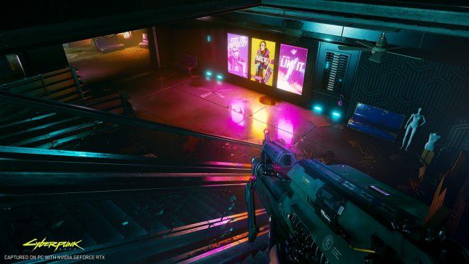 Cyberpunk 2077 Outdoor RTX Environment