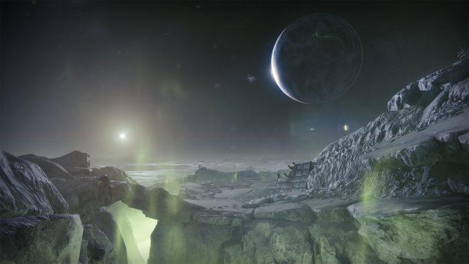 Destiny 2 Shadowkeep - Moon Surface