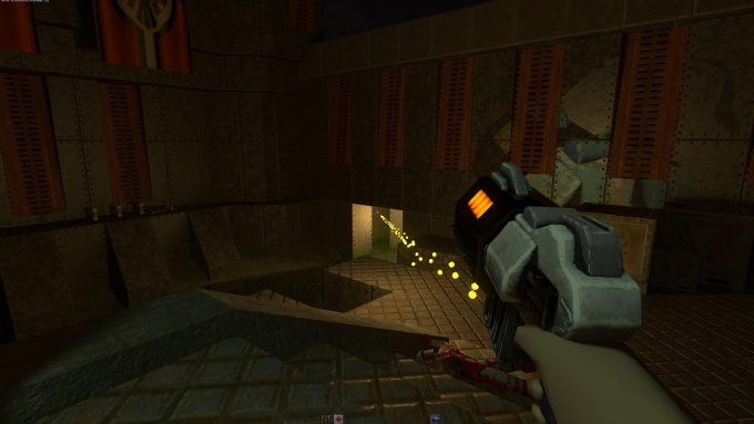 Quake II RTX - Blaster Lit Environment