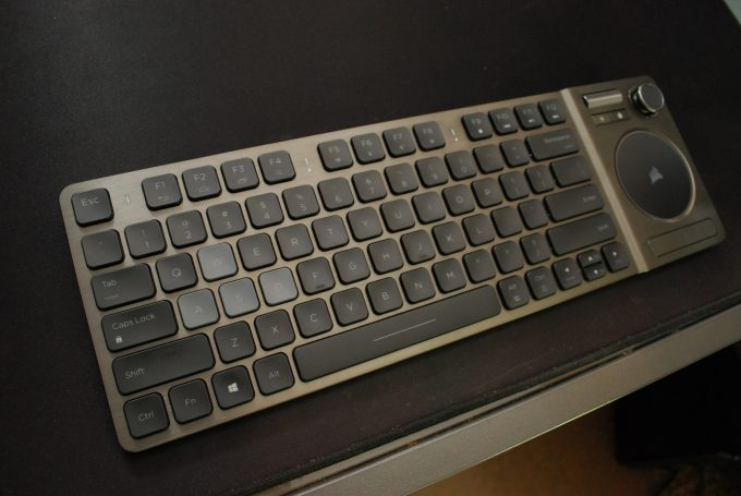 Corsair K83 Wireless Entertainment Keyboard Main Body Whole Shot