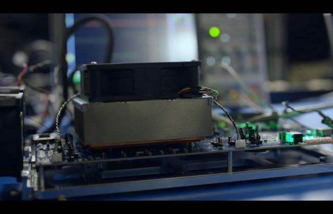 Xbox Project Scarlett - E3 2019 - Reveal Trailer Heatsink Test Unit