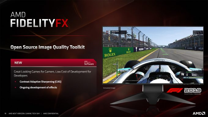 AMD FidelityFX - Gaming Tech Day Slide