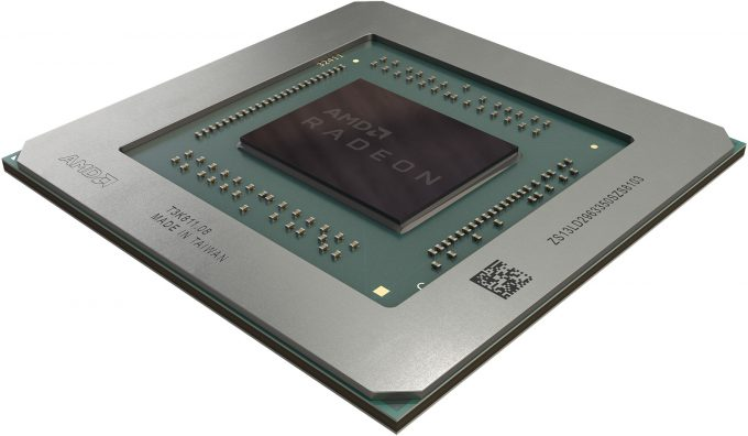 AMD Navi-based Radeon RX 5700 Chip