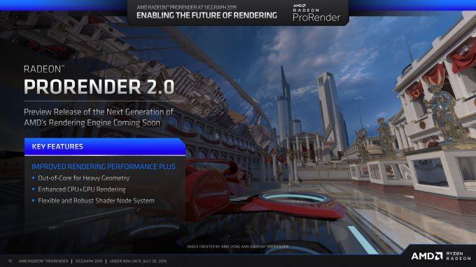 AMD ProRender - ProRender 2.0