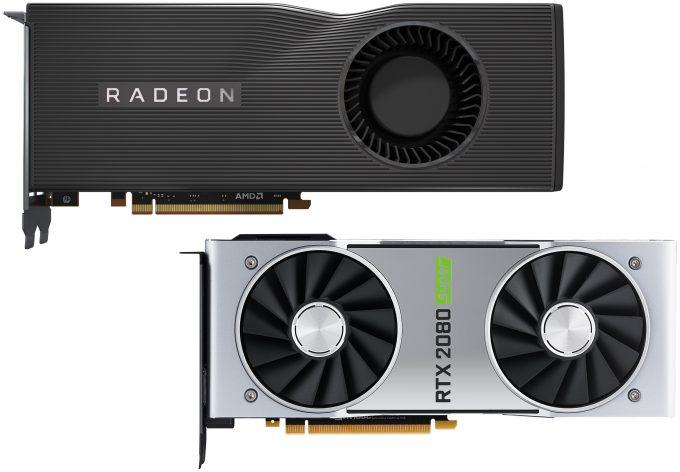 AMD Radeon Navi and NVIDIA GeForce SUPER