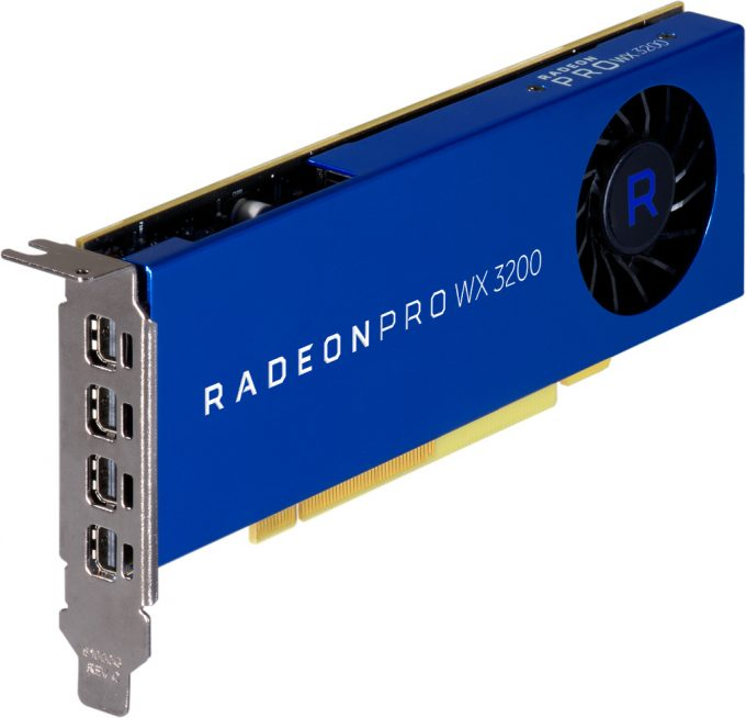 AMD Radeon Pro WX 3200 Workstation Graphics Card