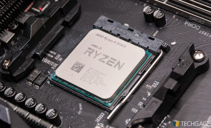 AMD Ryzen 9 3900X In Motherboard 2