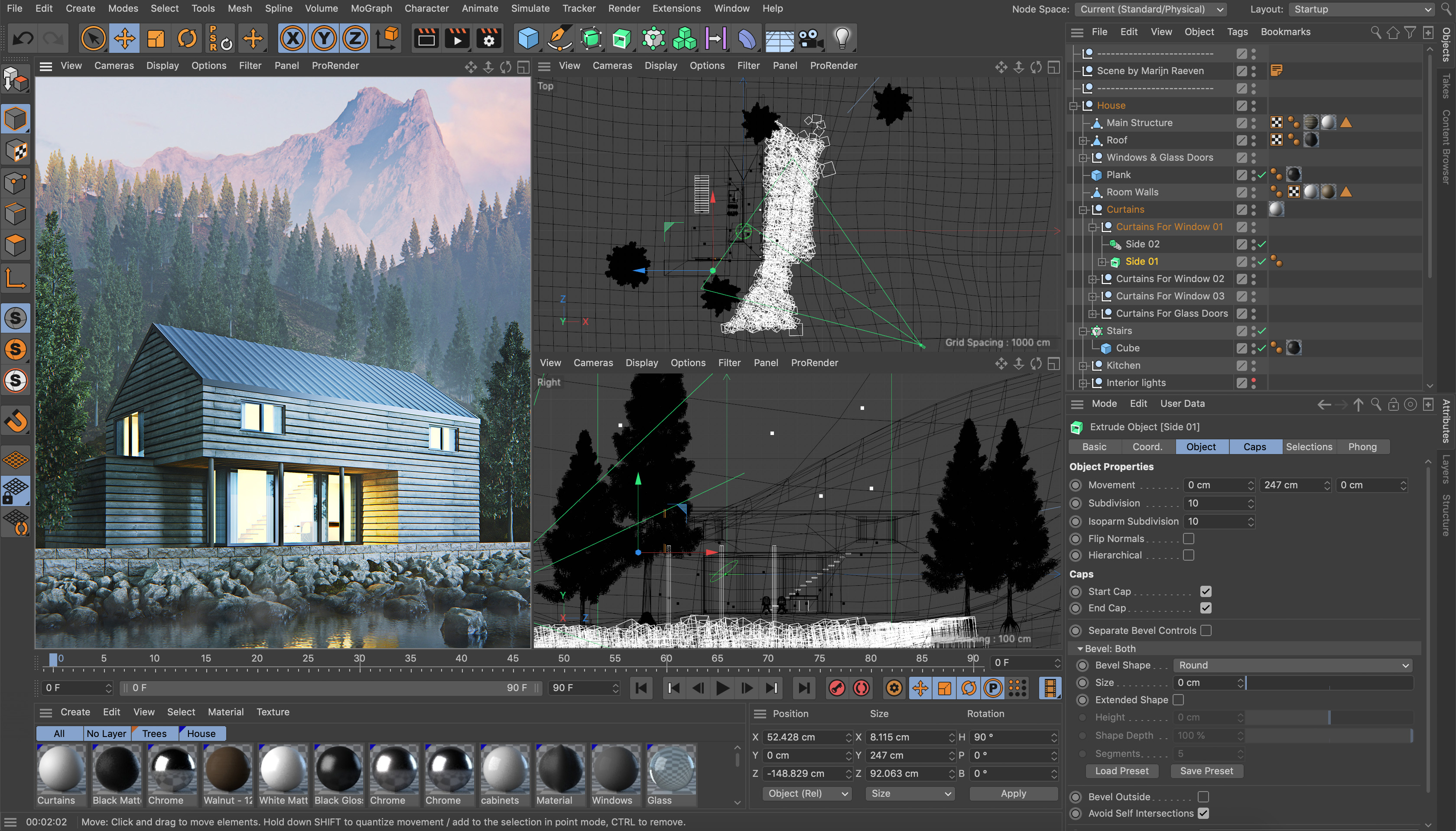 Cinema 4d House Builder Tool Plugin