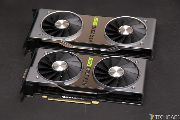 NVIDIA GeForce RTX 2060 SUPER & RTX 2070 SUPER