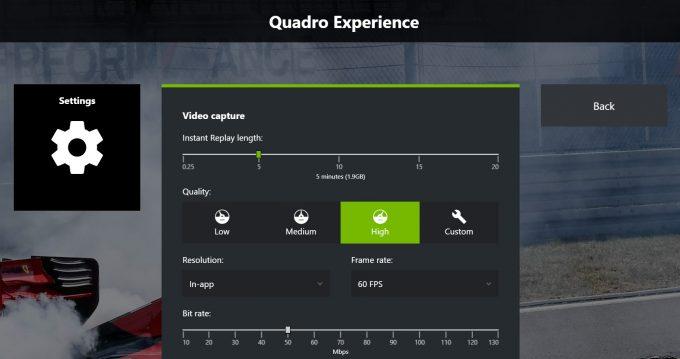 NVIDIA Quadro Experience - Overlay