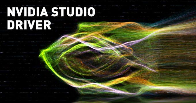 NVIDIA Studio Driver 1276x672
