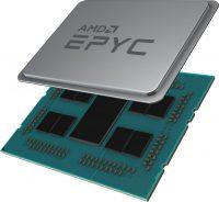 AMD 2nd Gen Epyc Rome Half Delidded