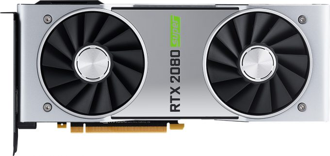NVIDIA GeForce RTX 2080 SUPER - Flat View