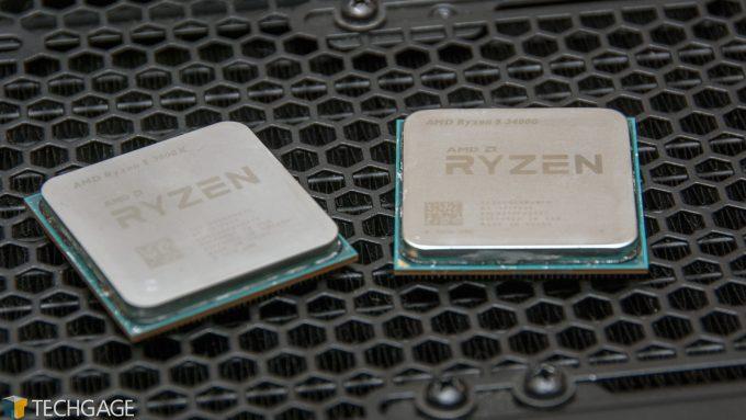 AMD Ryzen 5 3600X and Ryzen 5 3400G Processors